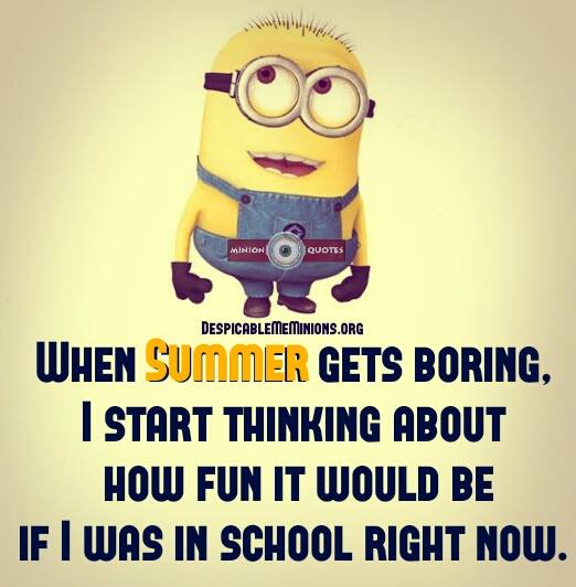 Quotes About Boring Summer 54 Quotes