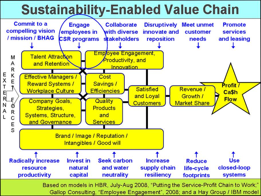 value chain of waner
