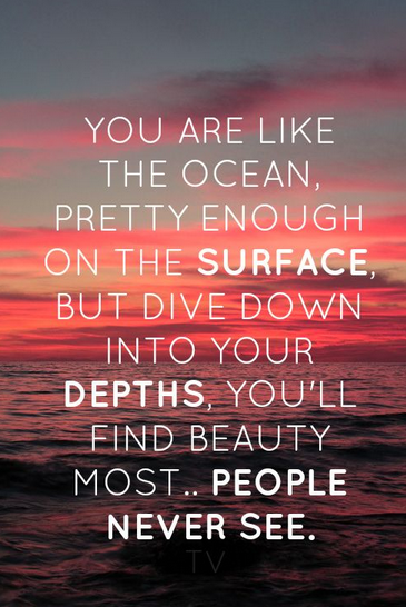 Quotes about Surface and depth (36 quotes)