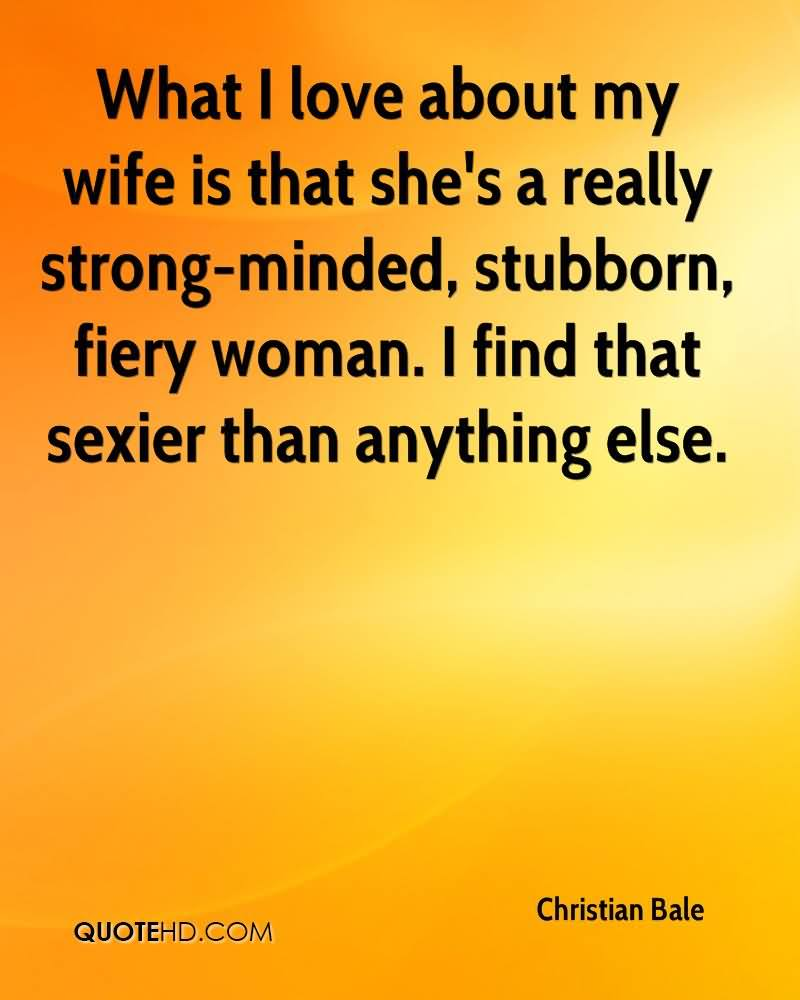 Quotes about I Love My Wife (9 quotes)