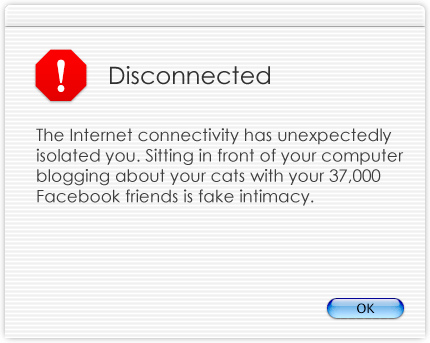Quotes about Disconnected (135 quotes)