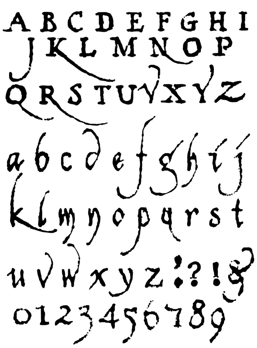 Different Types Of Old English Letters Image Collections Reference