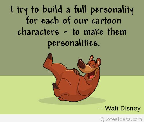 Quotes about Disney Cartoon (29 quotes)