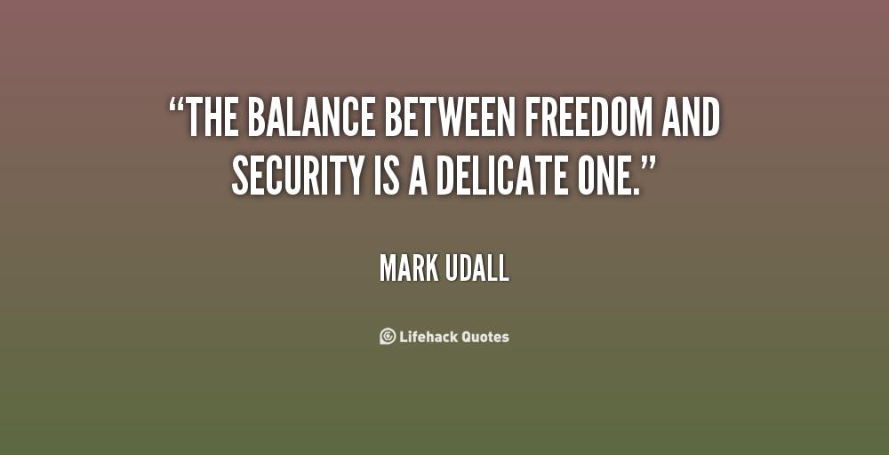 safety vs freedom
