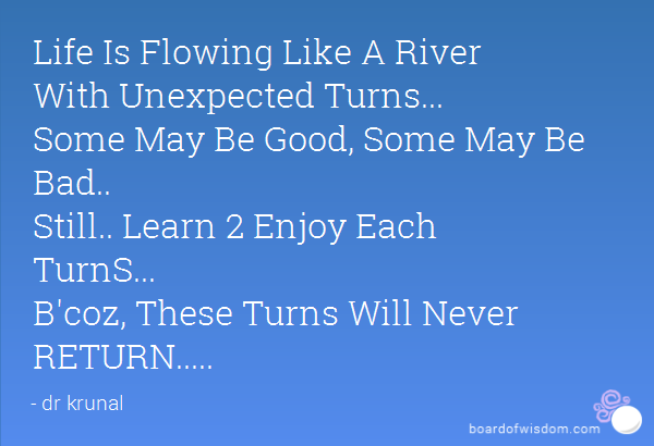 Quotes About Unexpected Turns 31 Quotes