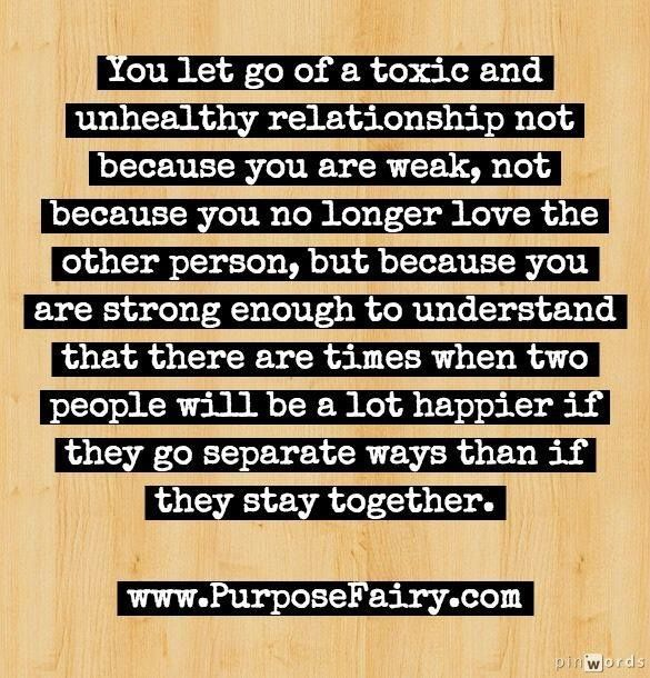 Are relationships toxic that Signs that