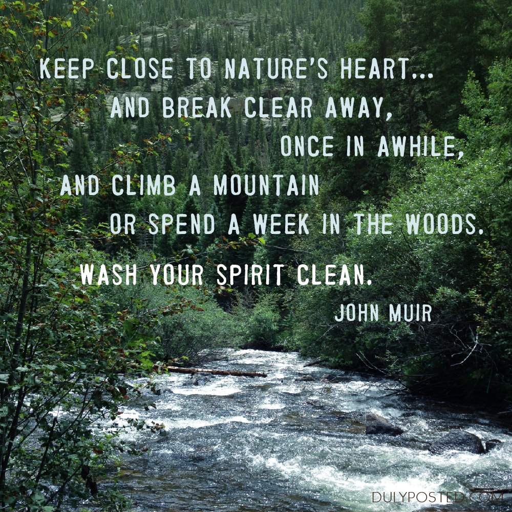 Quotes About Nature John Muir 48 Quotes