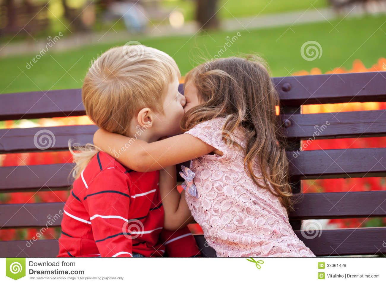 kids kisses