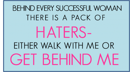 Quotes About Haters Hate 52 Quotes
