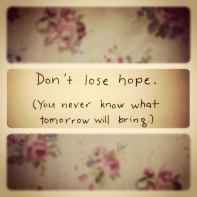 quotes about dont lose hope