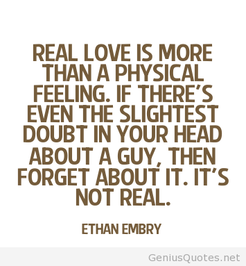 Quotes about Real Feeling (104 quotes)