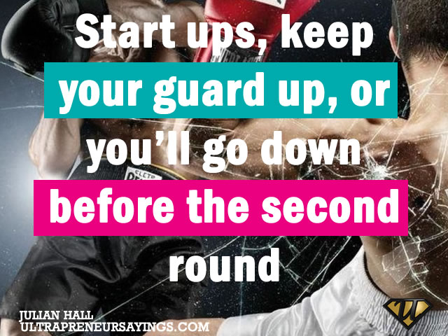 Quotes about Guards Up (31 quotes)