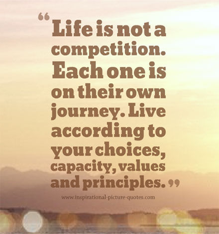 Quotes about Competition in life (72 quotes)