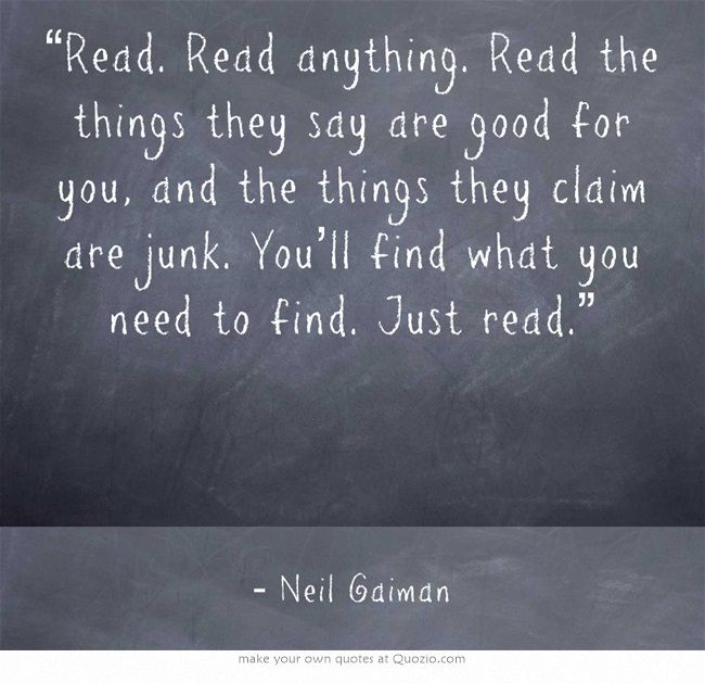 Best of You Are What You Read Quote