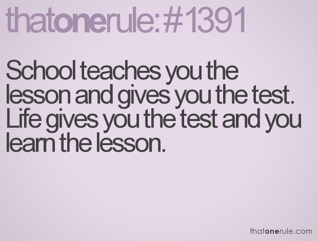 Quotes About School Tests 49 Quotes