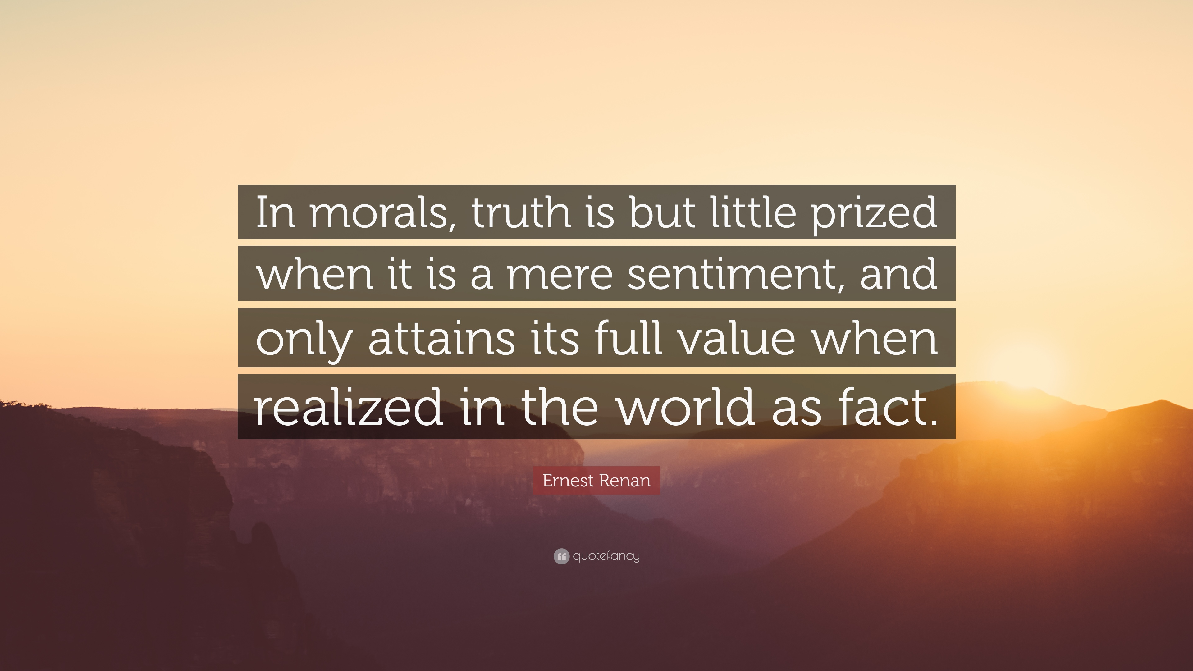 truth and morality