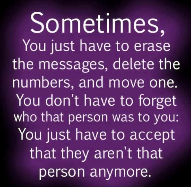 Need to move on