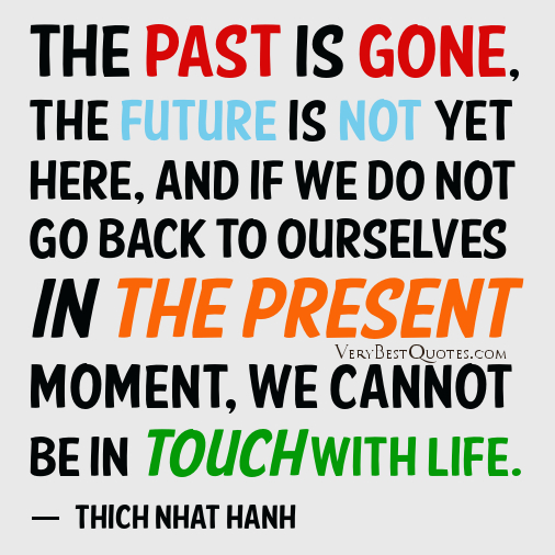 Quotes About Living In The Past Quote About Living Life In The Past