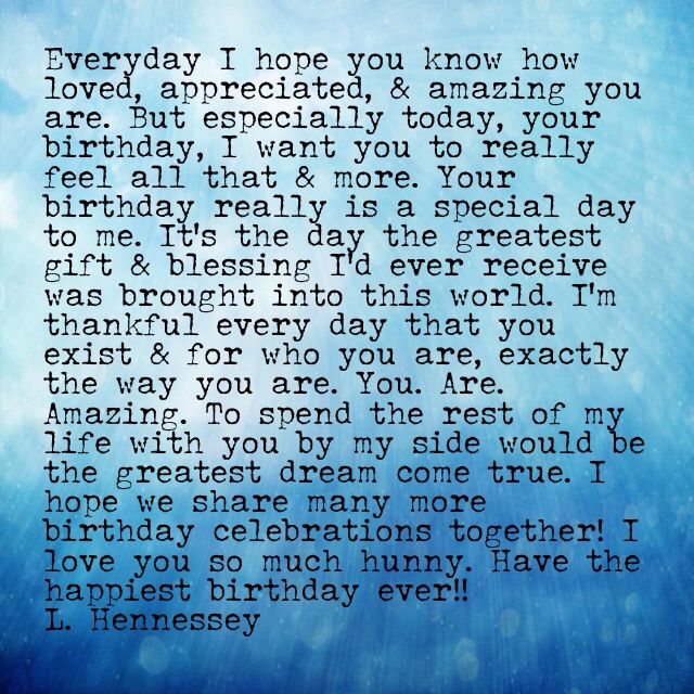Quotes About Birthday Of My Love 69 Quotes