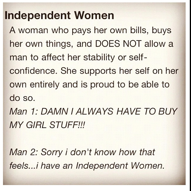 Quotes about Independent Woman (60 quotes)