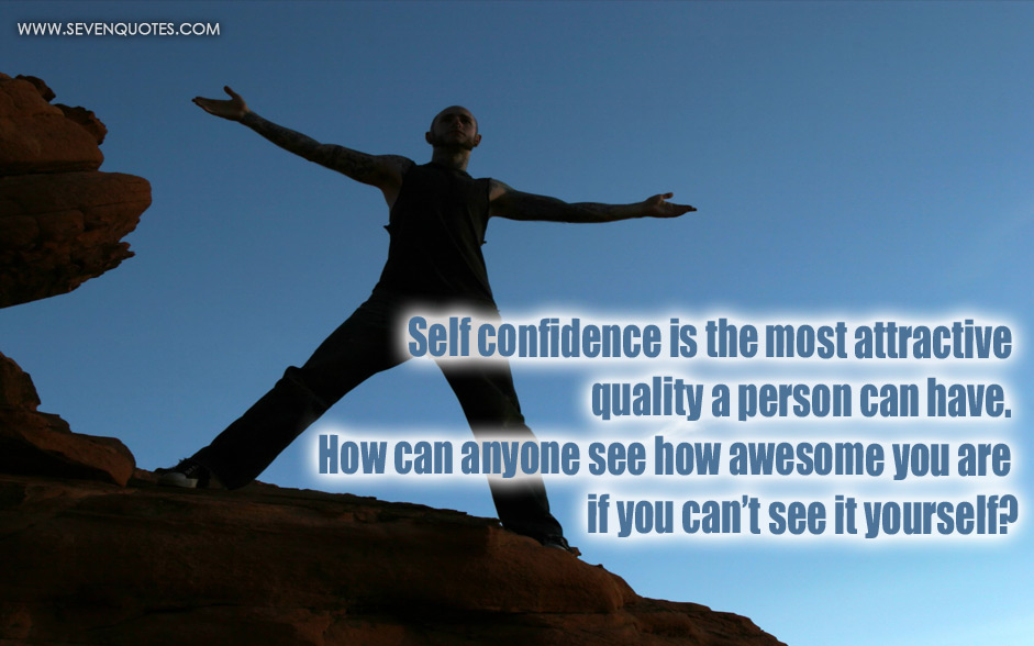 self confidence and success Key to career success is confidence, not talent the secret to career success is not talent, hard work or education, but sheer, unashamed confidence, a study has suggested confidence is the key to.