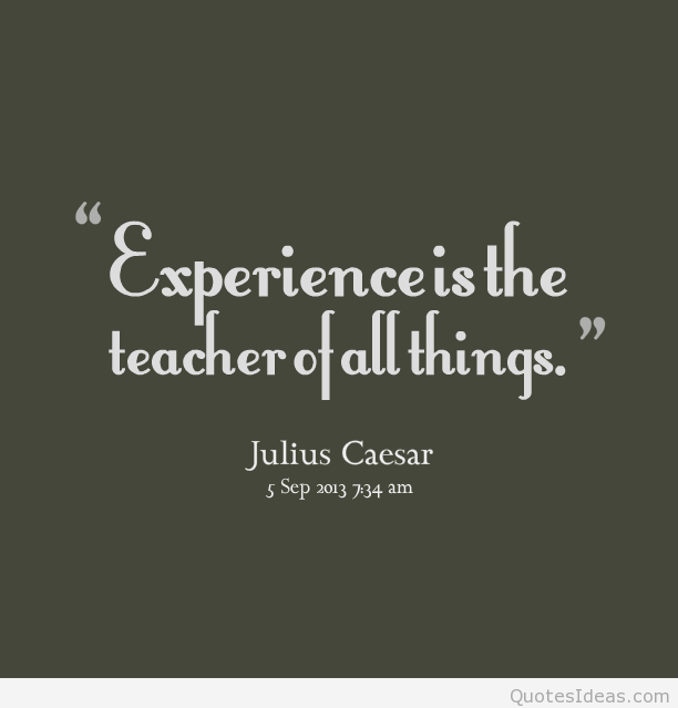 quotes about experience new things quotes
