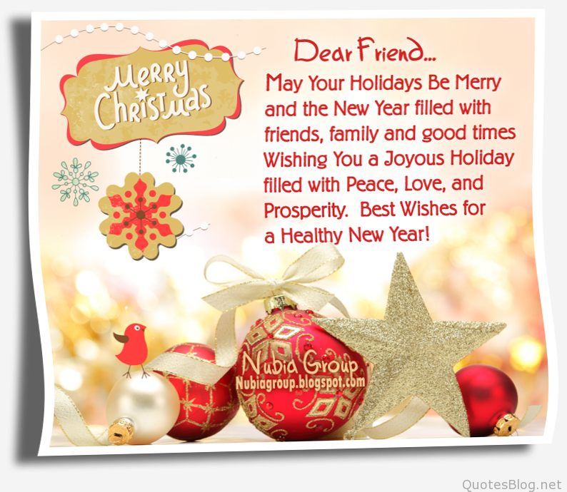 quotes about christmas and friends - Best Friend Christmas Quotes