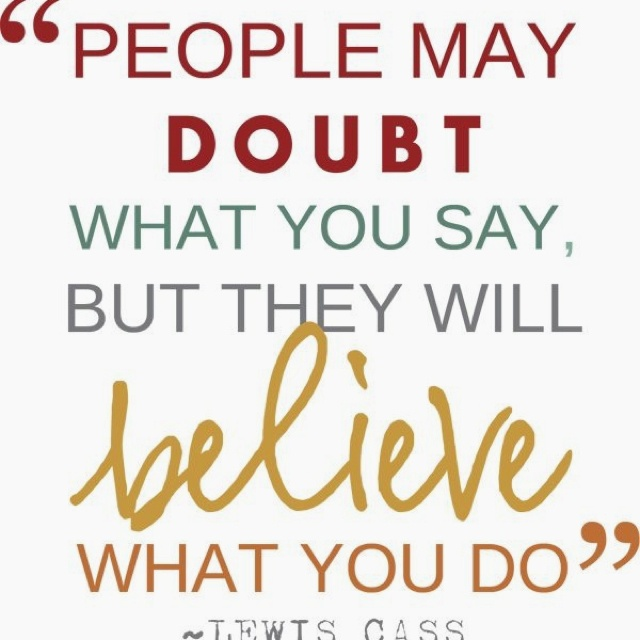 Quotes About Actions Over Words 21 Quotes