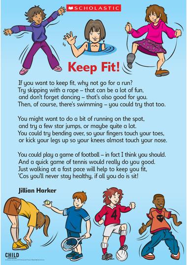 keep fit essay
