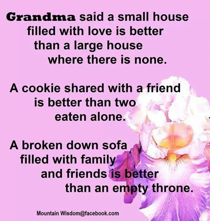 Quotes about Grandma\'s garden (26 quotes)