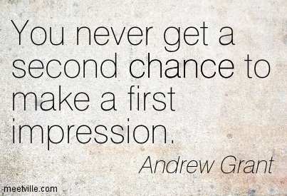 Quotes About First Impressions 59 Quotes