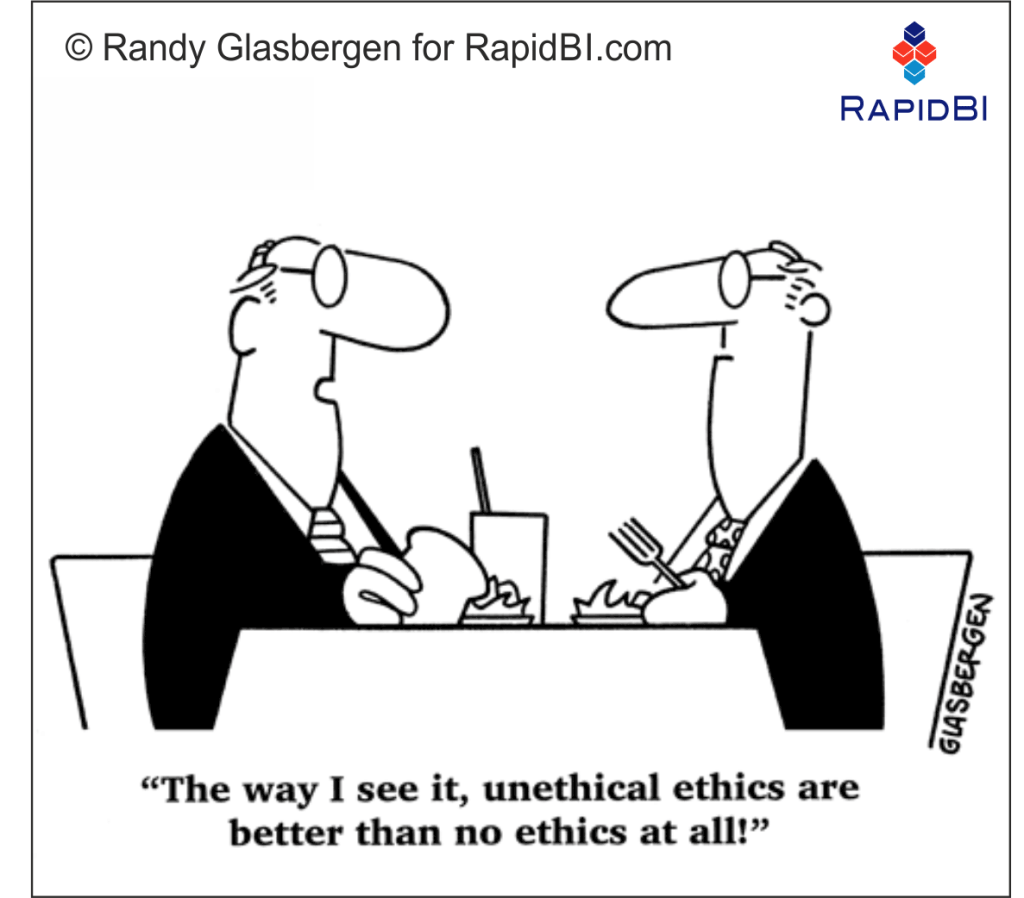 a discussion on the ethics in business