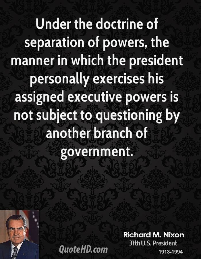 Quotes About Separation Of Powers 46 Quotes