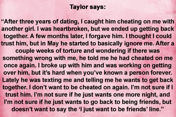 Quotes about Boyfriend cheating (26 quotes)