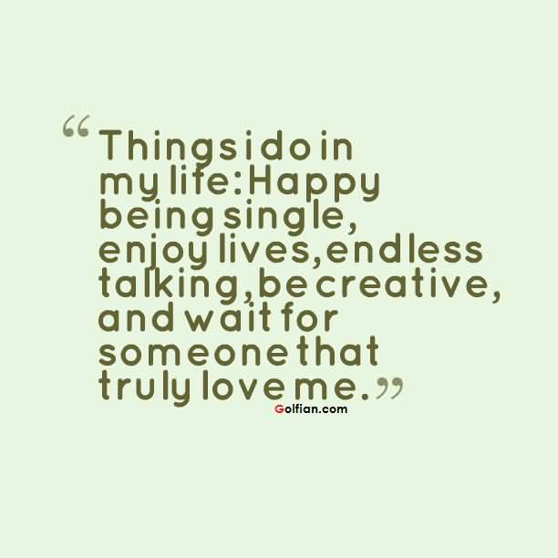 Quotes About Being Content Single 19 Quotes