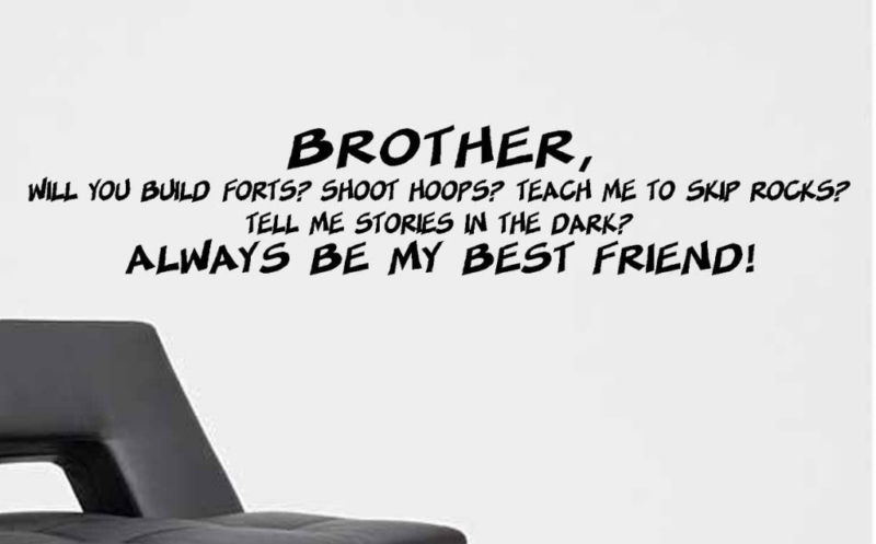 Quotes about Brother and best friend (70 quotes)