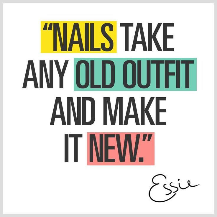 Quotes about Healthy nails (23 quotes)