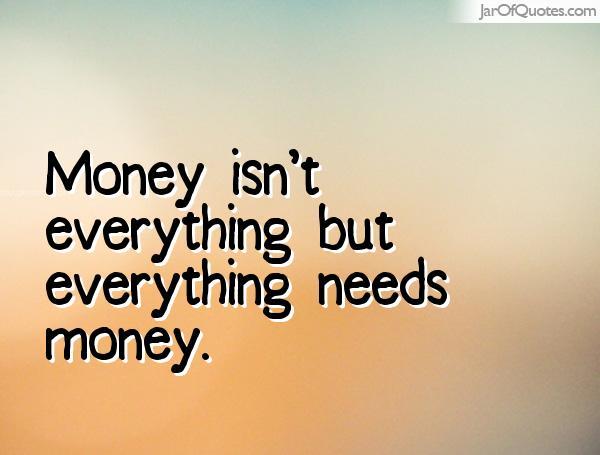 Money is not life