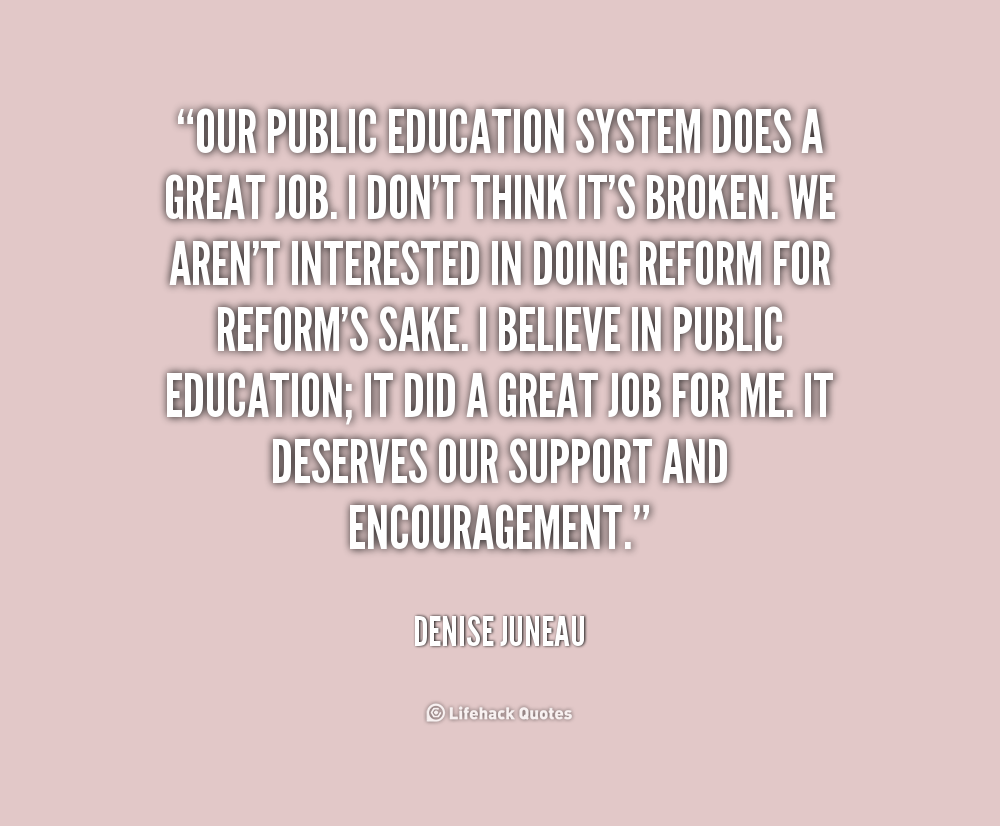 quotes about n education system quotes