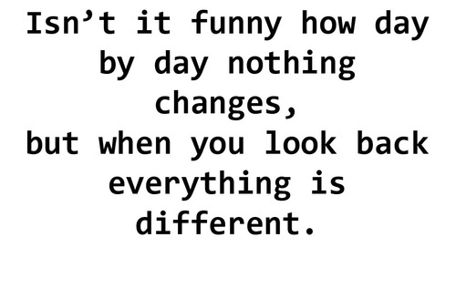 Quotes About Funny How Things Change 8 Quotes