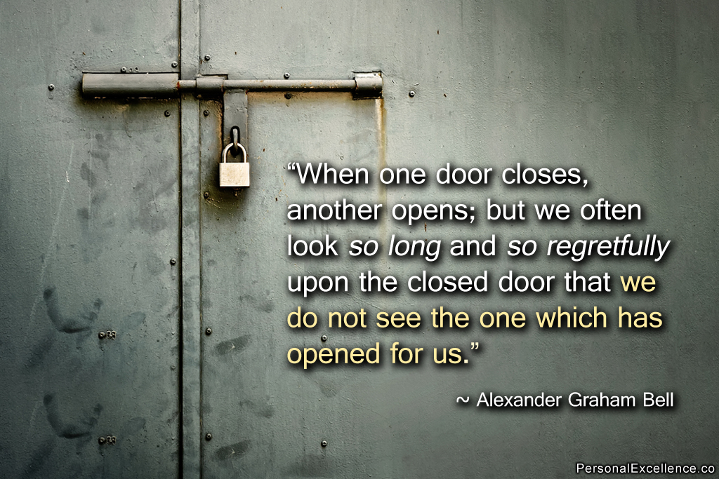 Quotes About Opened Doors 90 Quotes
