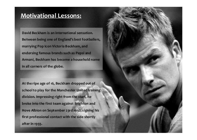 Quotes about Beckham (94 quotes)