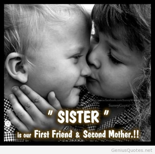 Quotes about Sister and brother love (66 quotes)
