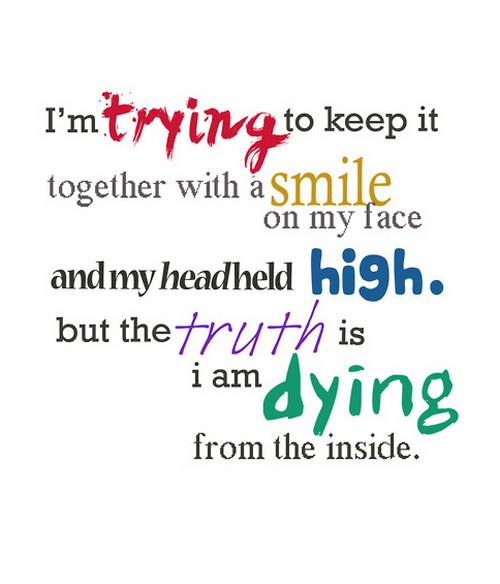 Quotes About Keeping It Together 42 Quotes