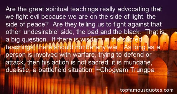 Quotes about Spiritual Warfare (53 quotes)
