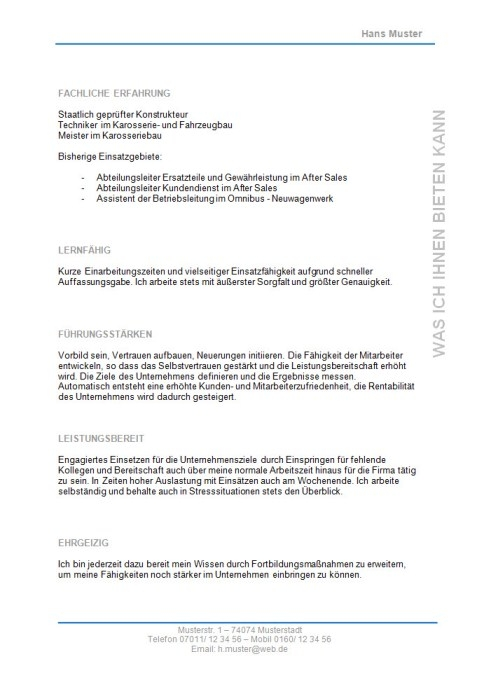 bewerbung karosseriebauer muster Quotes about Muster (114 quotes)