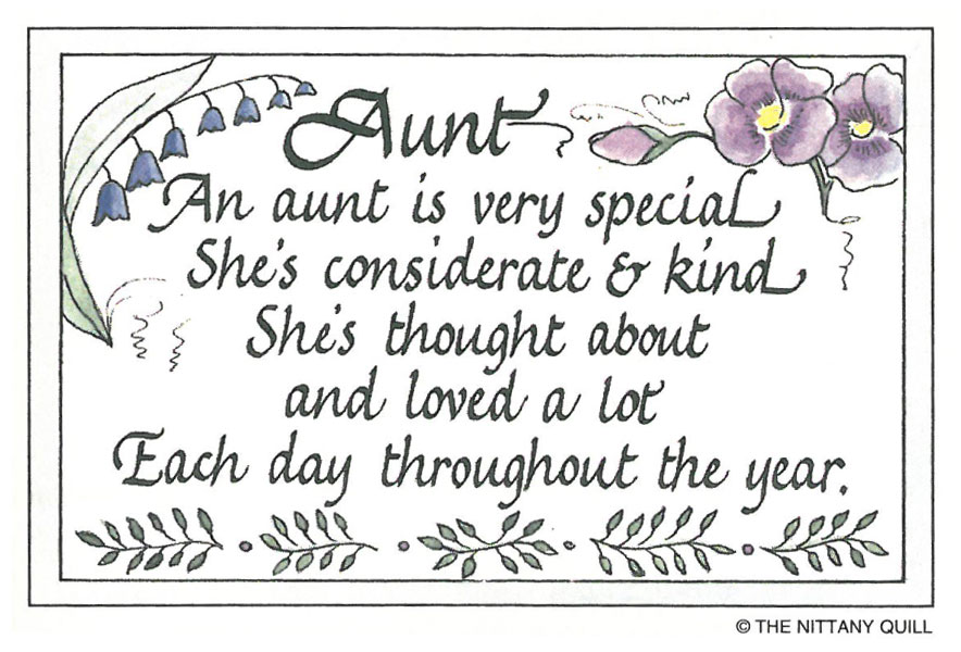 Quotes about Wonderful aunt (22 quotes)
