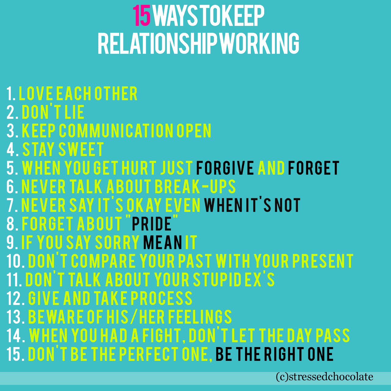 Quotes about Relationships advice (45 quotes)
