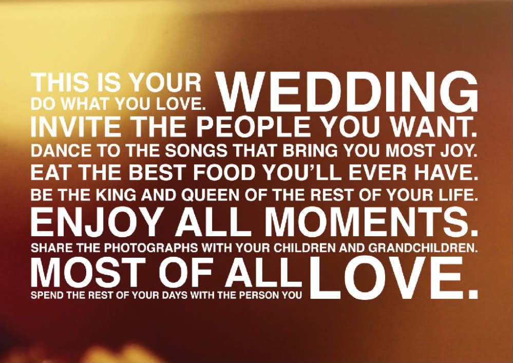 Quotes about planning your wedding 21 quotes quotes about planning your wedding junglespirit Choice Image