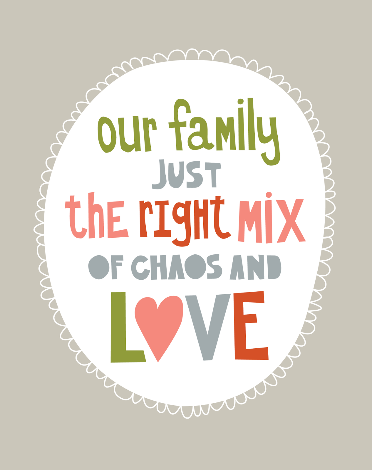 Quotes about Mixed Family